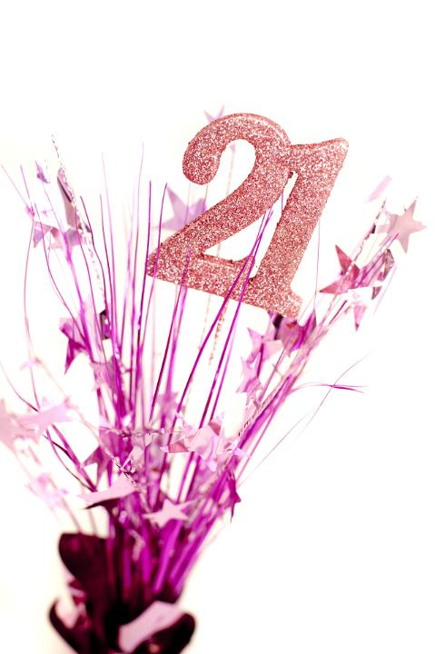 Image Of 21st Birthday Celebration For A Girl Freebie