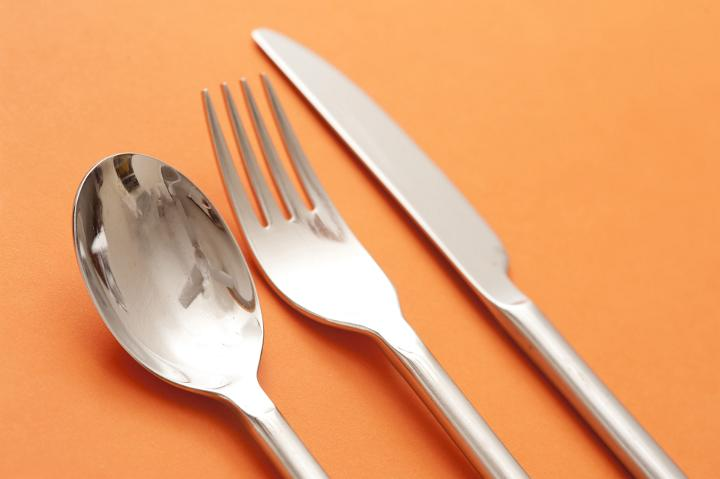 Fork Spoon Knife Kitchen Decor
