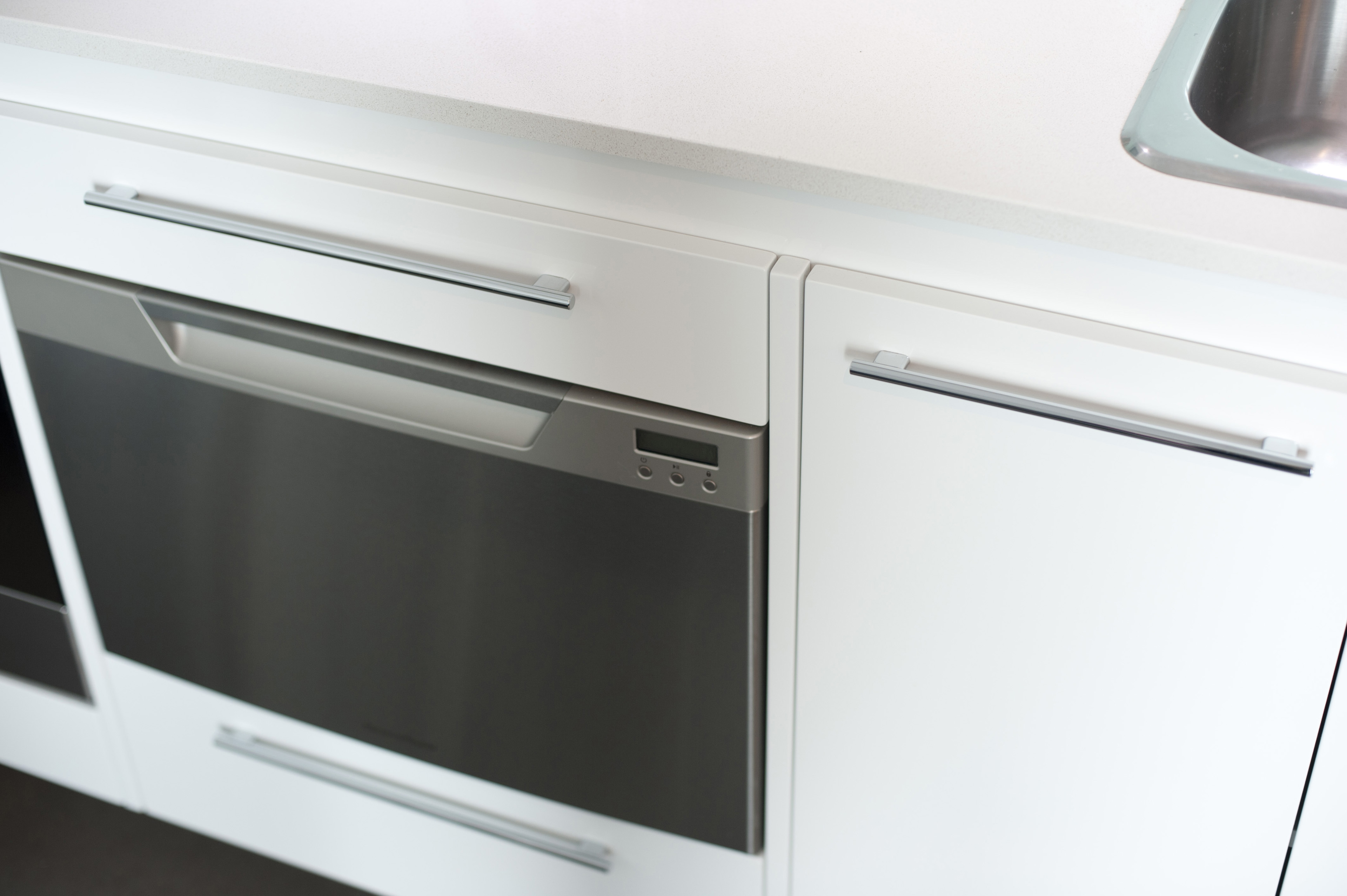 Image of Modern white fan oven | Freebie.Photography