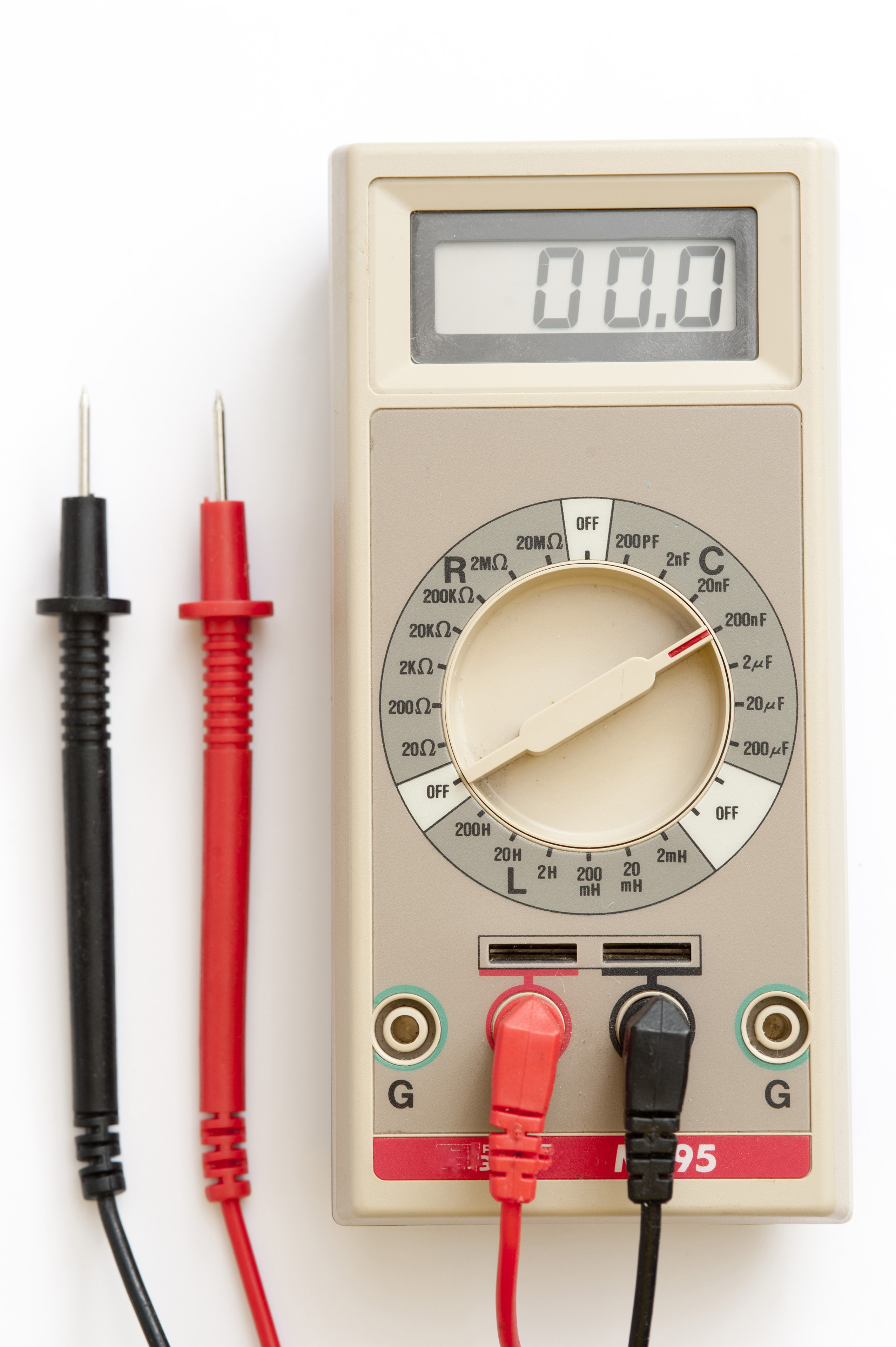 An electronic inductance capacitance and resistance meter