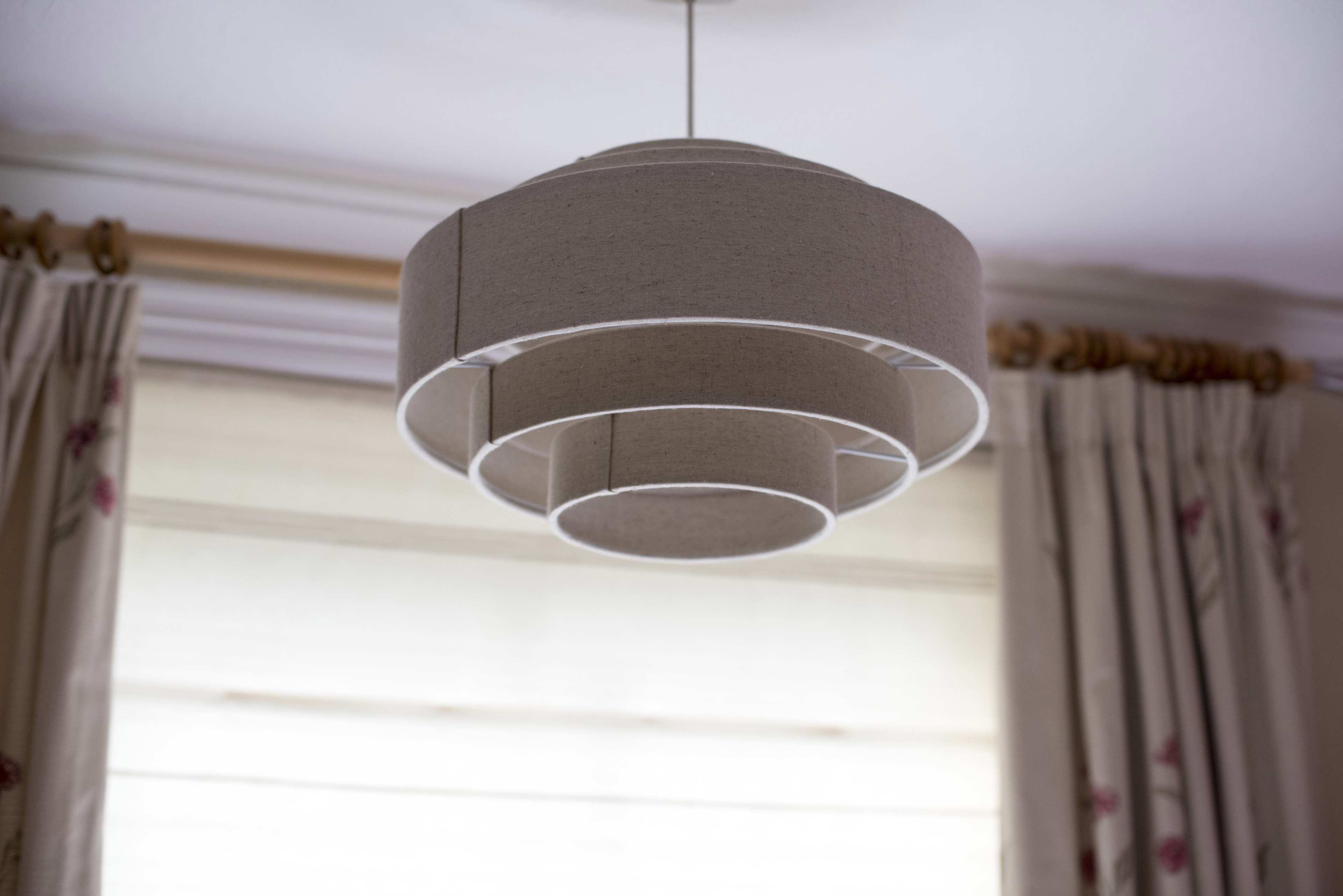 Image Of Contemporary Interior Ceiling Lamp Shade