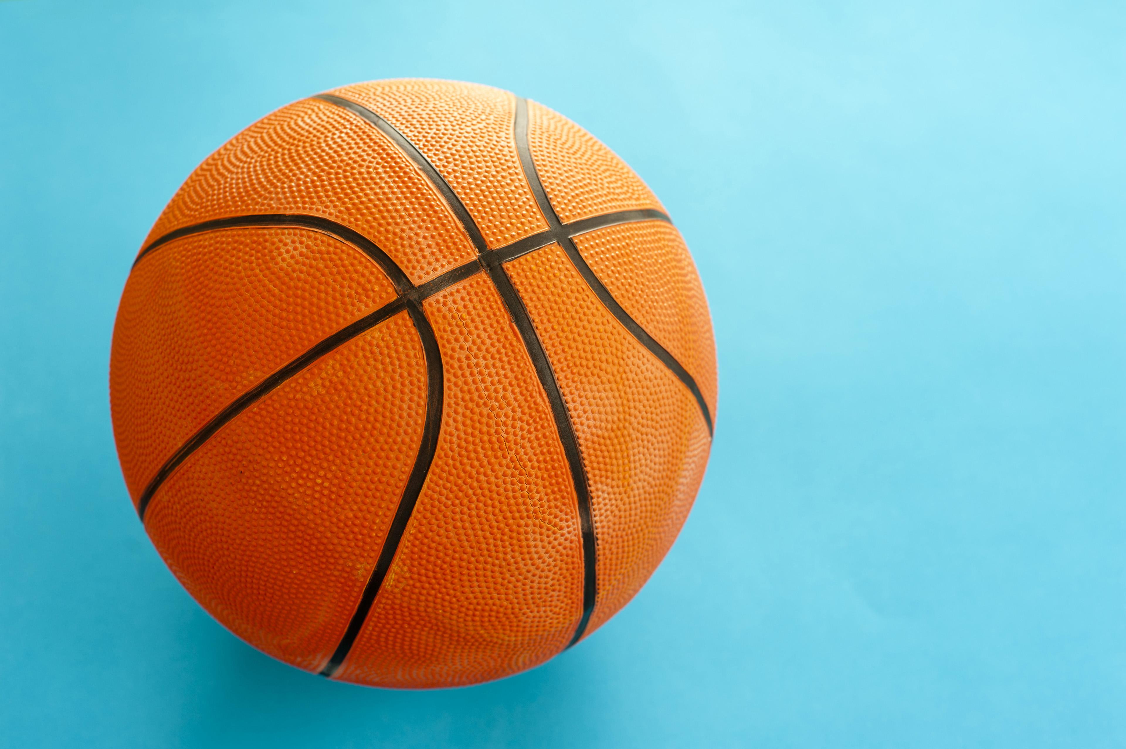 Image of Colorful orange basketball | Freebie.Photography